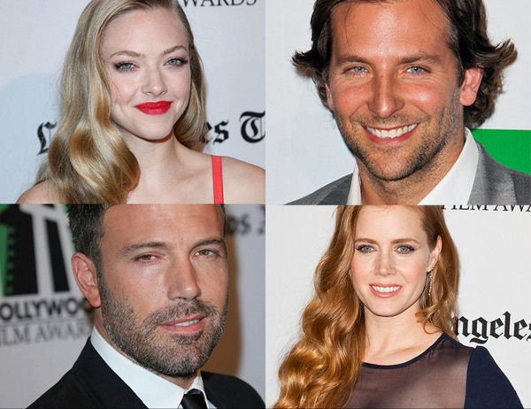Bradley Cooper Ben Affleck Amanda Seyfried Amy Adams Hollywood Film Awards Ben Affleck und Bradley Cooper: Hollywood Film Awards Gala