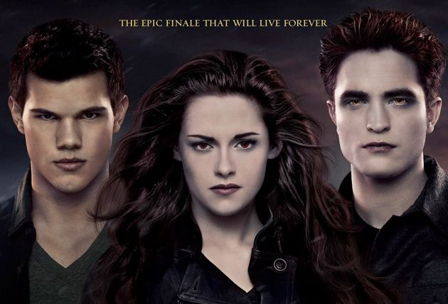 Breaking Dawn 2 final international Poster Part1 Kristen Stewart und ihre mütterliche Seite + neue Breaking Dawn 2 Stills