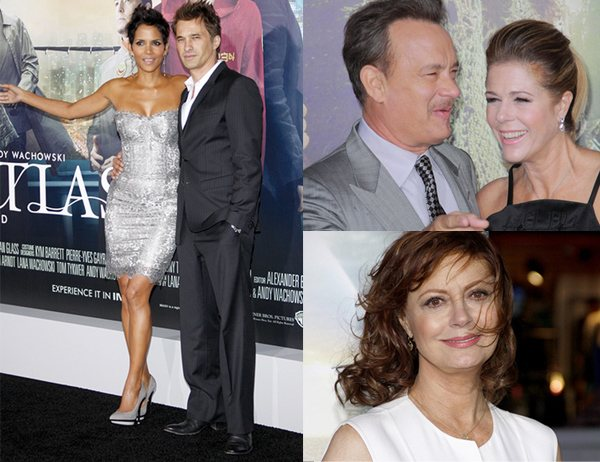 Halle Berry Tom Hanks Susan Sarandon Cloud Atlas Premiere Halle Berry und Tom Hanks: Cloud Atlas Premiere