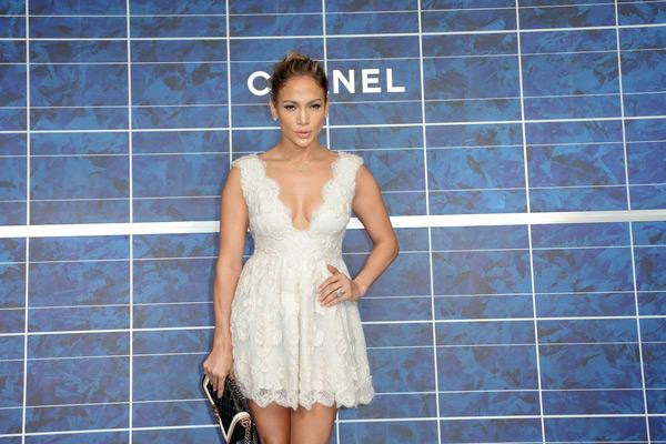 Jennifer Lopez Paris Fashion Week 4 Foto