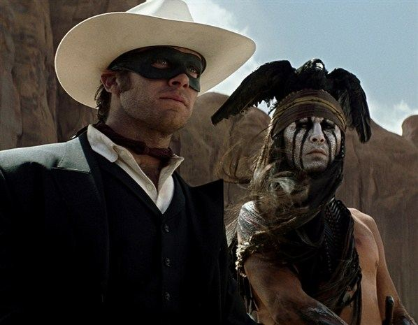 Johnny Depp Armie Hammer The Lone Ranger Still 10 Johnny Depp: 10 Szenenbilder aus The Lone Ranger