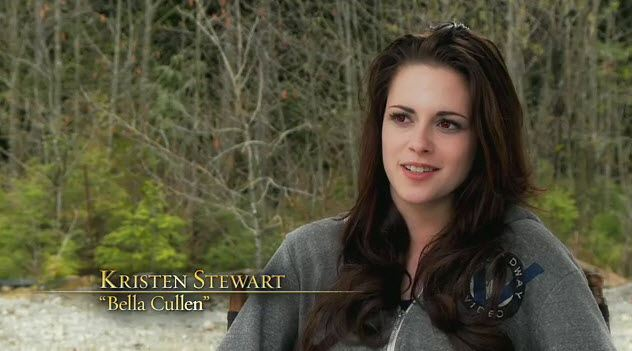 Kristen Stewart Breaking Dawn 2 Featurette Breaking Dawn 2 Featurette mit Robert Pattinson und Kristen Stewart