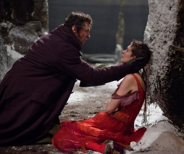 Les Miserables Still 1 Anne Hathaway & Hugh Jackman: Les Miserables Filmposter