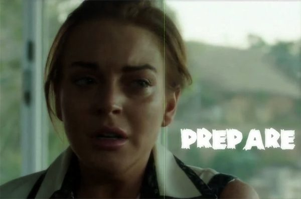 Lindsay Lohan The Canyons Teaser Trailer Lindsay Lohan in The Canyons   Teaser Trailer