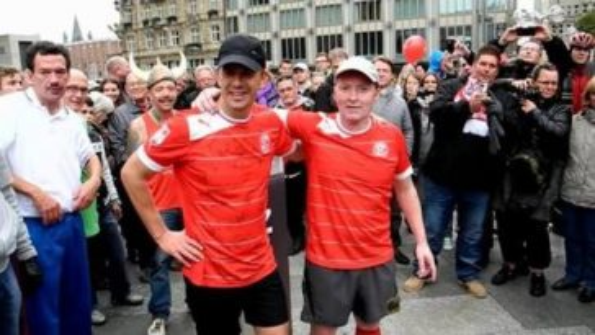 Markus Lanz Joey Kelly Marathon Düsseldorf Köln