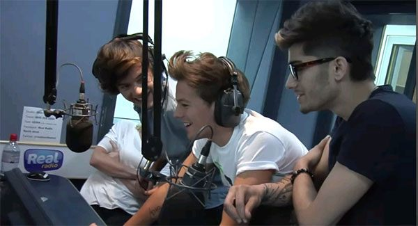 One Direction Real Radio One Direction erobern Radiosender