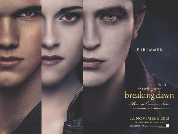 Twilight Breaking Dawn 2 Poster Breaking Dawn 2 Deutschlandpremiere in Berlin