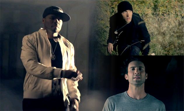 50 Cent Eminem Adam Levine My Life 50 Cent ft. Eminem & Adam Levine   My Life Musikvideo