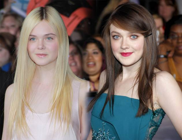 Dakota Elle Fanning Breaking Dawn 2 Weltpremiere Los Angeles Breaking Dawn 2 Weltpremiere: Dakota und Elle Fanning