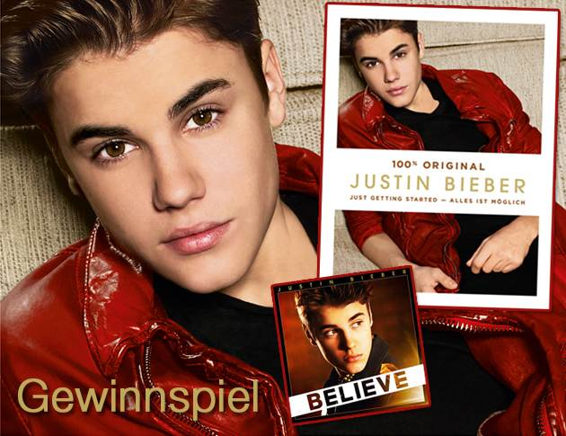Justin Bieber Just Getting Started Biografie Gewinnspiel Foto