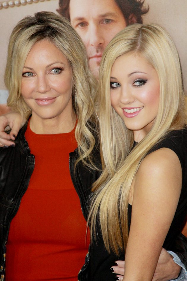 Heather Locklear This is 40 Los Angeles Premiere 2