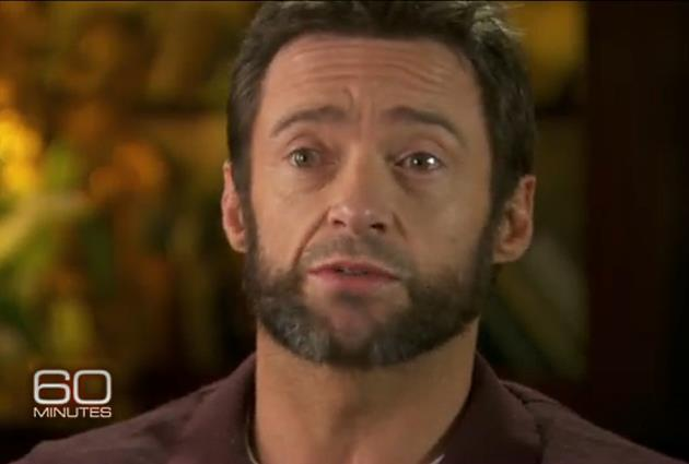 Hugh Jackman 60 Minutes Interview Hugh Jackman: Tränen beim Interview