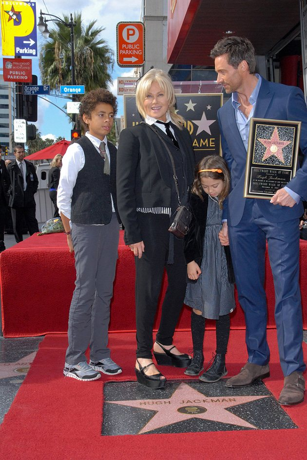 Hugh Jackman Deborra Lee Furness Walk of Fame 2