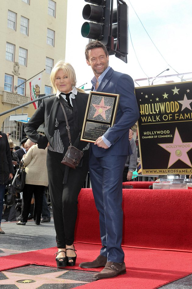 Hugh Jackman Deborra Lee Furness Walk of Fame
