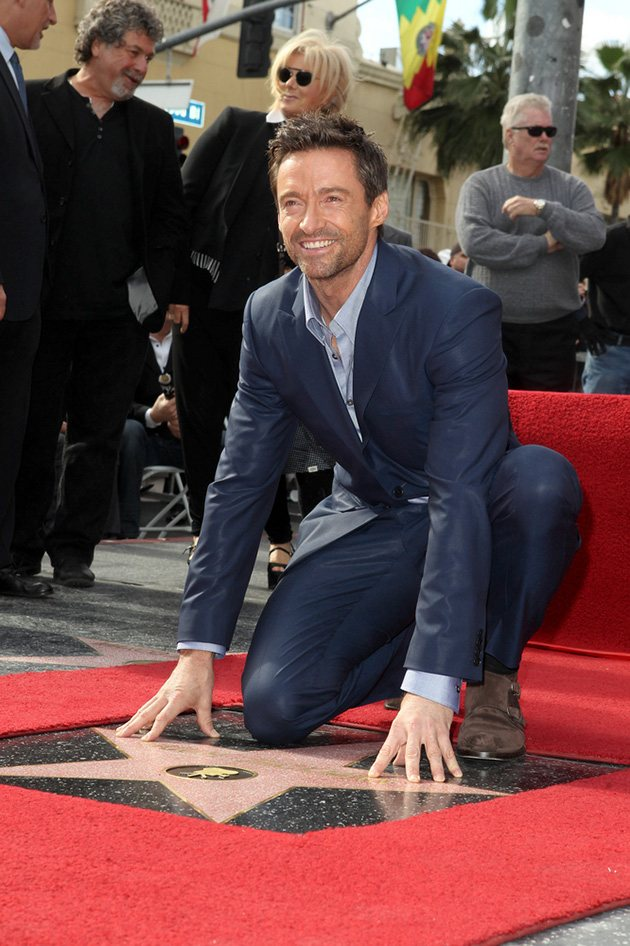 Hugh Jackman Walk of Fame 3