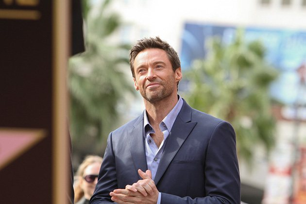Hugh Jackman Walk of Fame 4