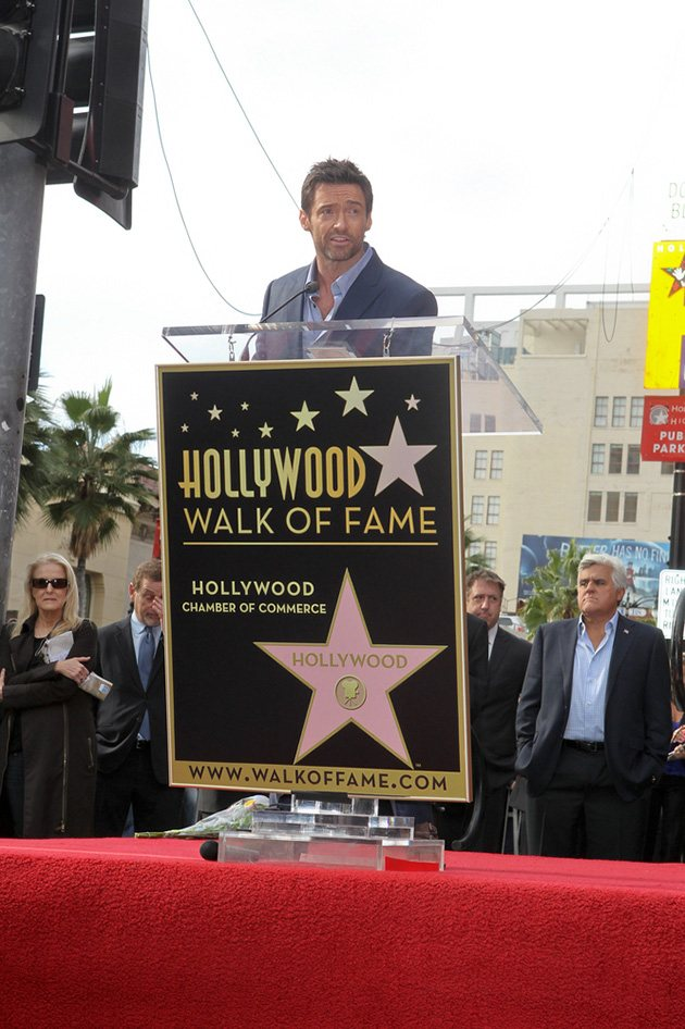Hugh Jackman Walk of Fame