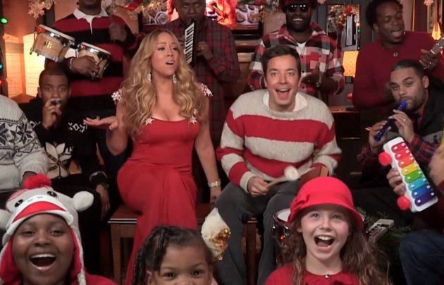 Mariah carey amp jimmy fallon all i want for christmas is you