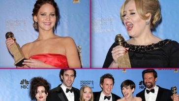 Golden-Globes-2013-Press-Room-Jennifer-Lawrence-Adele-Les-Miserable