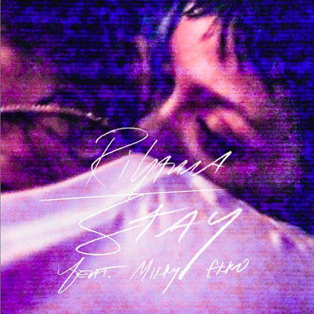 Rihanna Stay Cover Rihanna: Neues Single Cover mit Chris Brown