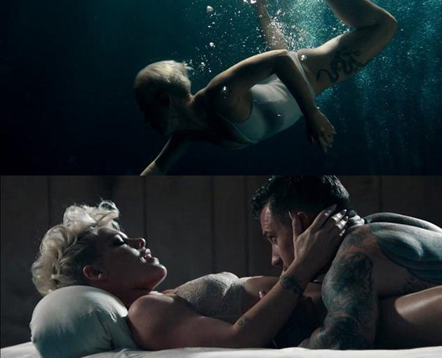 """Pink """"Just Give Me A Reason"""" Musikvideo"""