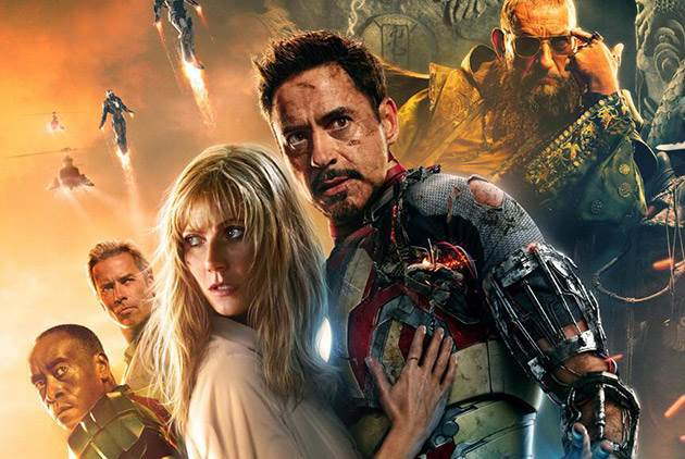 "Neues ""Iron Man 3"" Poster mit Robert Downey Jr. & Gwyneth ..."