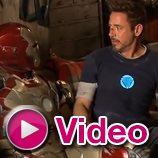 """Iron Man 3″: B-Roll mit Robert Downey Jr."