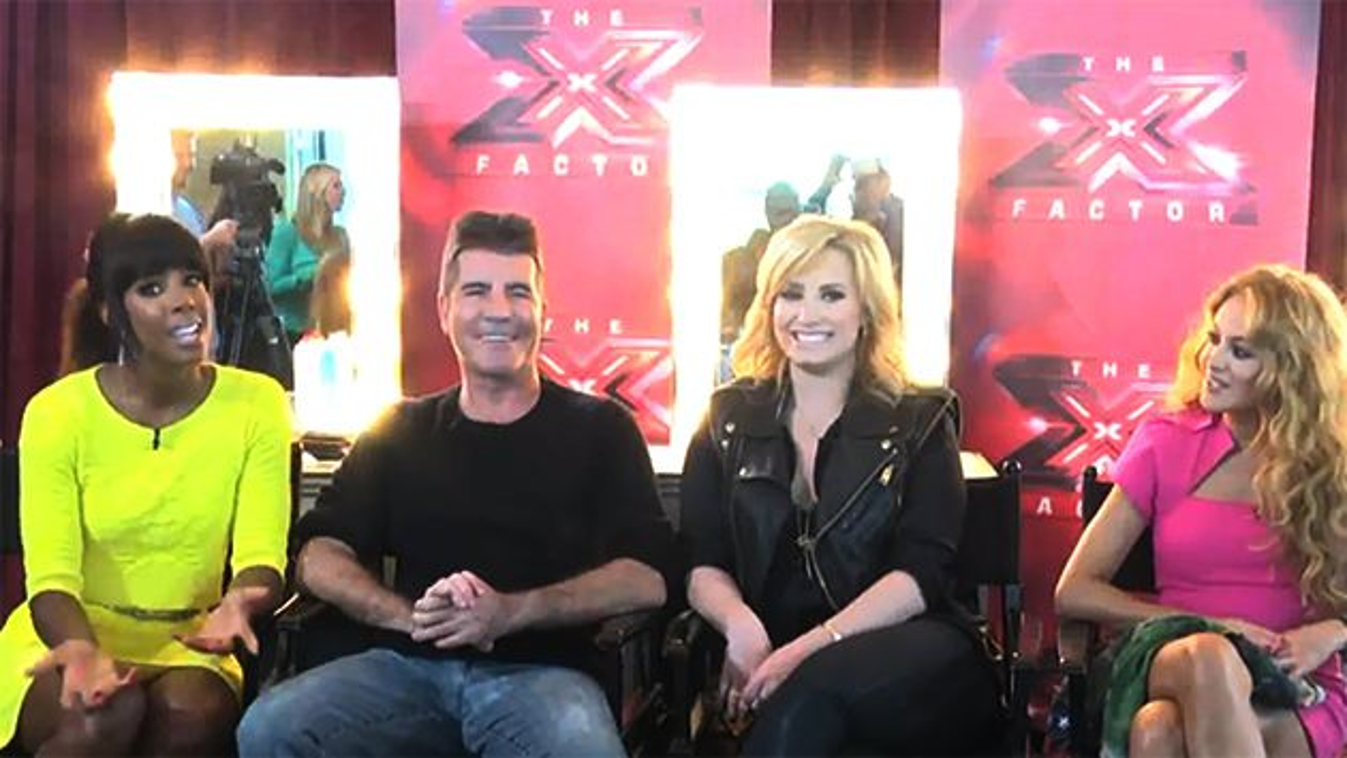 X-Factor-Kelly-Rowland-Simon-Cowell-Demi-Lovato-Paulina-Rubio