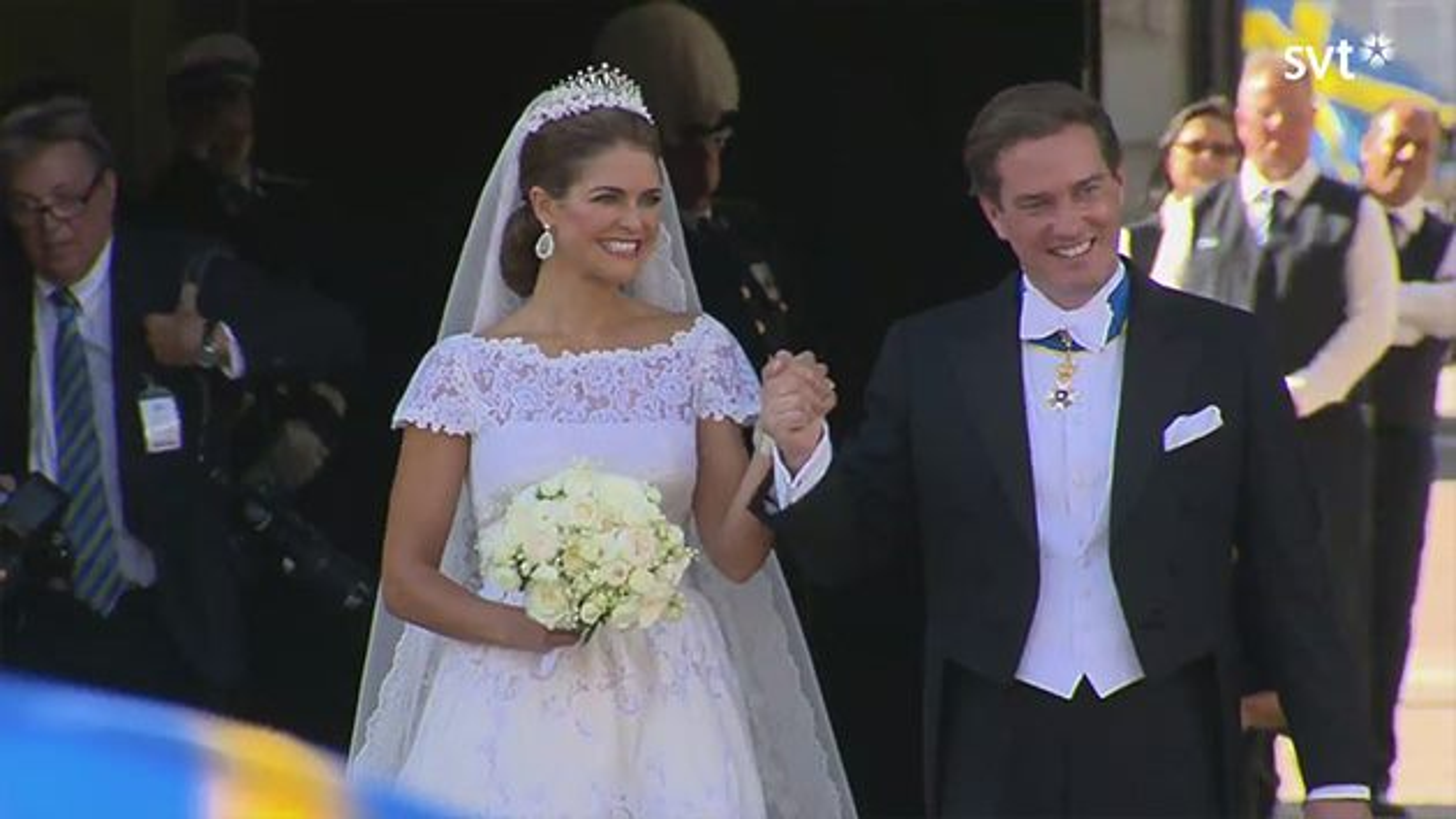 Prinzessin Madeleine Schweden Hochzeit 19