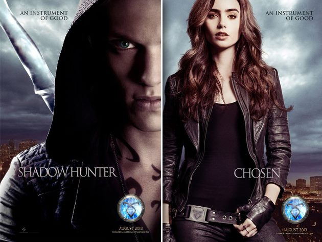 The Mortal Instruments City of Bones Charakter Poster Foto