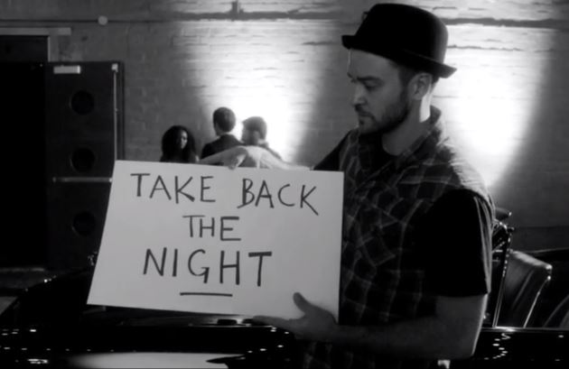 Justin Timberlake Take Back The Night Foto