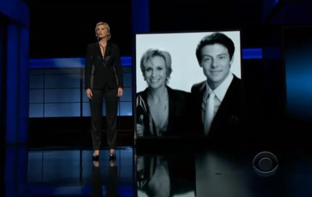 Jane-Lynch-Cory-Monteith-Tribute-Emmy-Awards