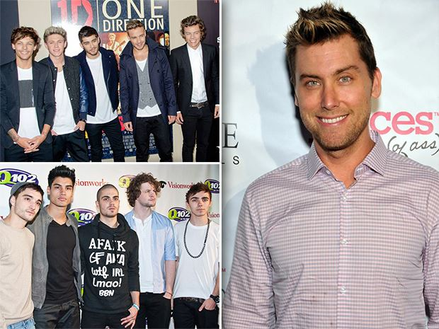 One-Direction-The-Wanted-Lance-Bass