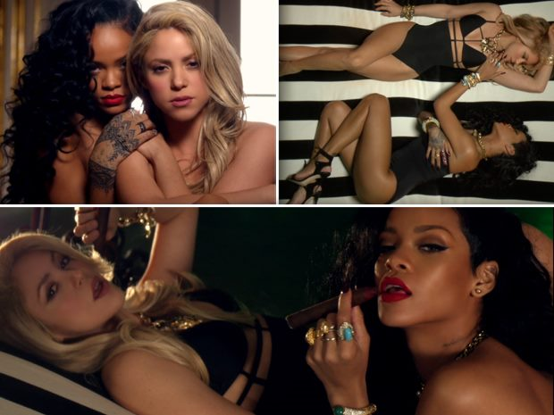 Shakira-Rihanna-Cant-Remember-to-Forget-You-Musikvideo