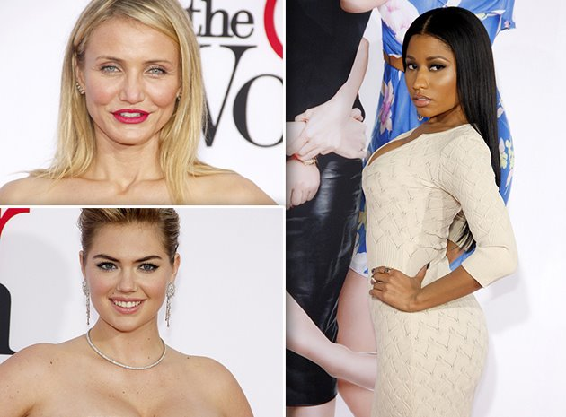 Caeron-Diaz-Nicki-Minaj-Kate-Upton-The-Other-Woman-Premiere-Los-Angeles