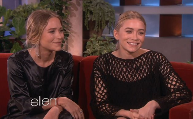 Mary Kate Ashley Olsen Ellen DeGeneres