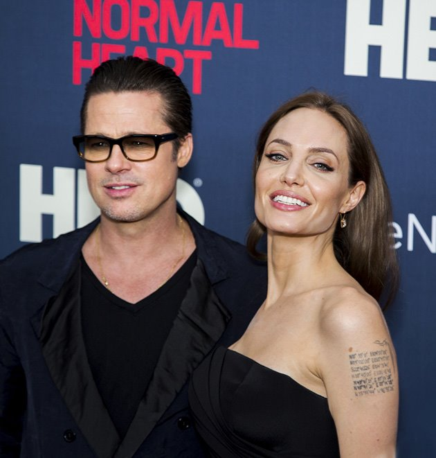 Angelina-Jolie-Brad-Pitt-The-Normal-Heart-Premiere