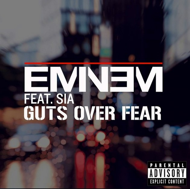 Eminem-Sia-Guts-Over-Fear-Cover