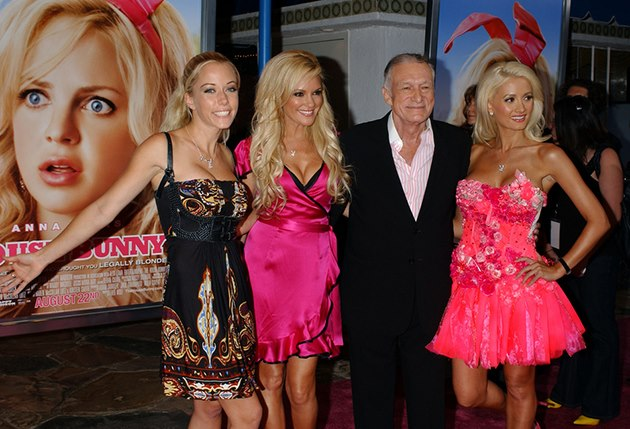 What that Holly madison sex with hef share