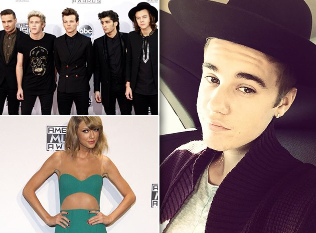 Justin-Bieber-One-Direction-Taylor-Swift