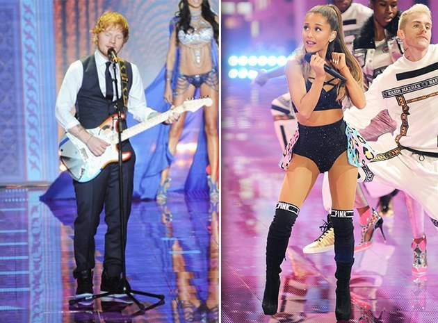 Ariana-Grande-Ed-Sheeran-Victorias-Secret-Fashion-Show-2014-London