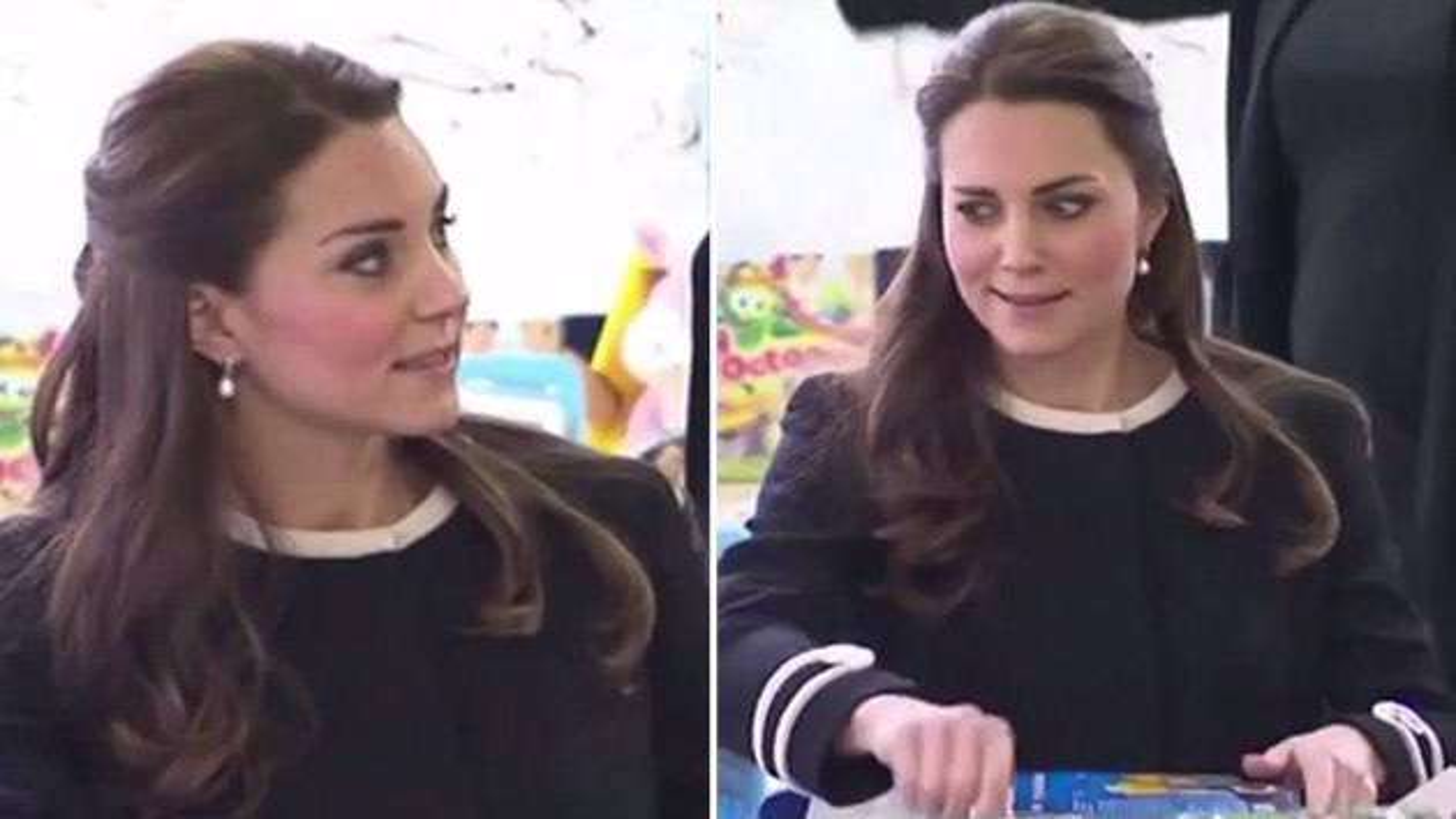 Kate-Middleton-genervt-Geschenke-einpacken