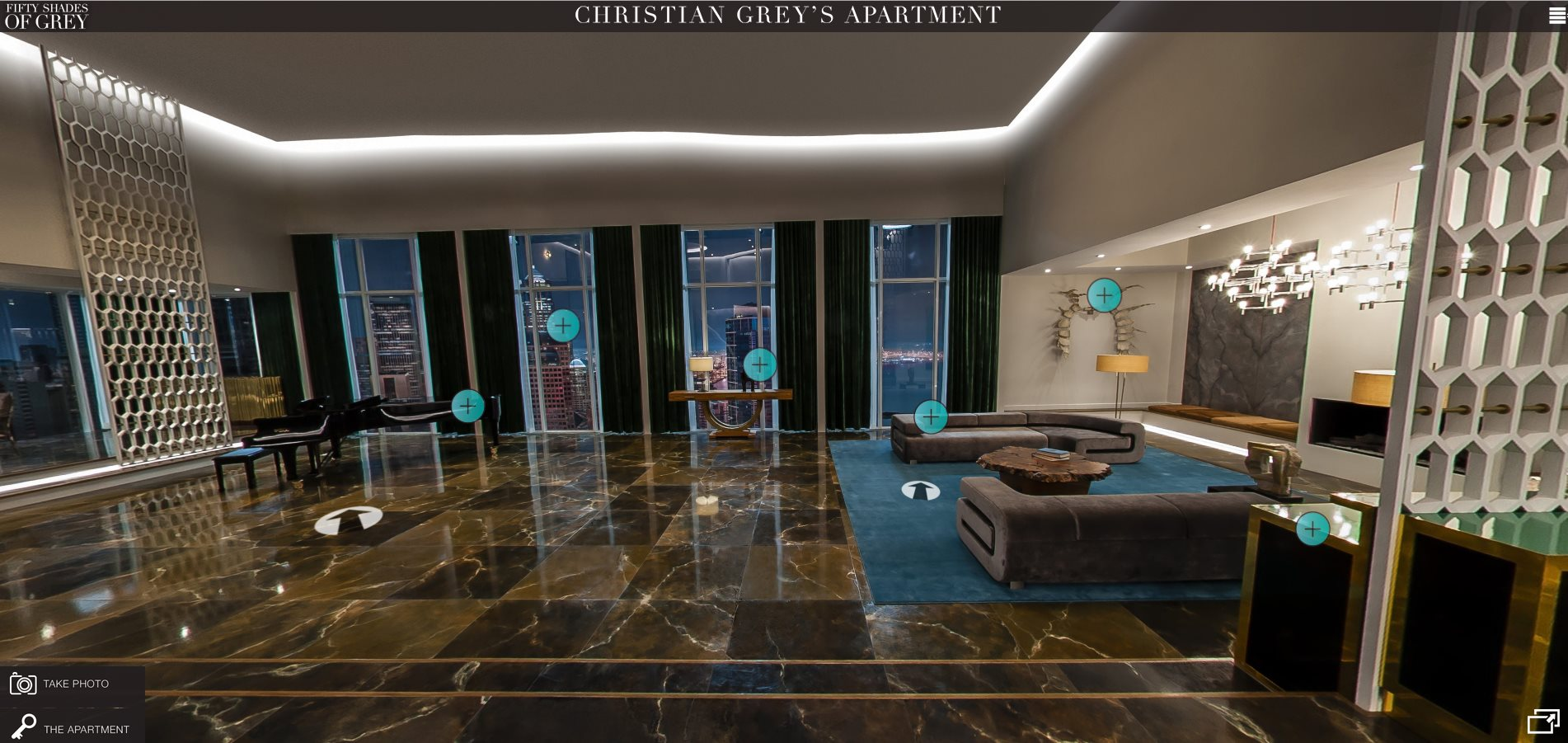 Fifty Shades Of Grey Eine Tour Durch Christians Apartment