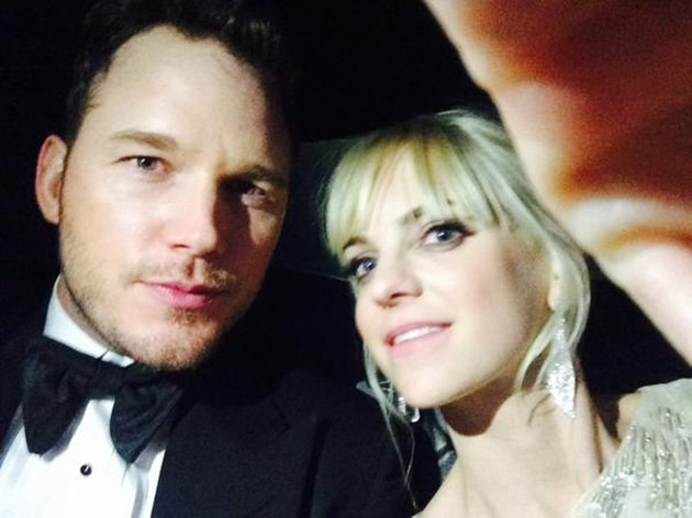Golden-Globes-2015-Anna-Faris-Chris-Pratt