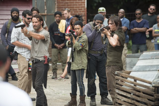 The-Walking-Dead-Staffel-5-Rick-Sasha-Tyreese-Daryl
