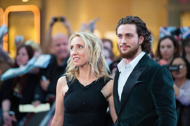 Sam-Aaron-Taylor-Johnson-Avengers-Age-of-Ultron-Premiere-London-2