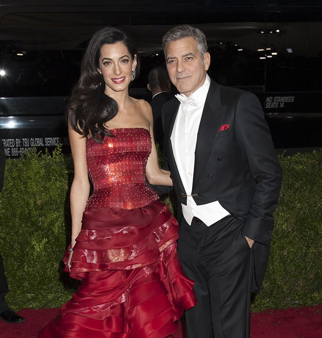george clooney hat angst um seine frau amal promicabana. Black Bedroom Furniture Sets. Home Design Ideas