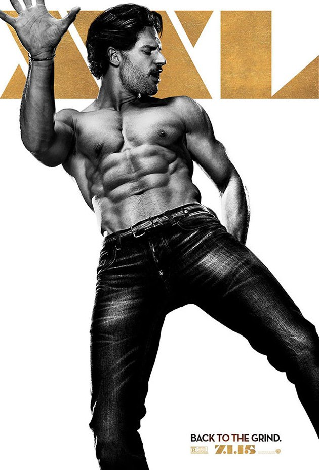 channing tatum zeigt neues magic mike xxl poster. Black Bedroom Furniture Sets. Home Design Ideas
