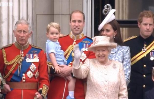 Kate-Middleton-William-George-Queen-Trooping-the-Colour-2015
