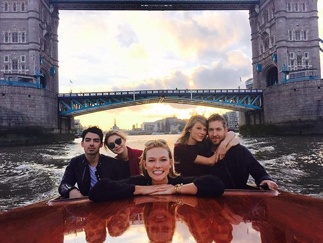 Taylor-Swift-Joe-Jonas-Gigi-Hadid-Calvin-Harris-Karlie-Kloss-London